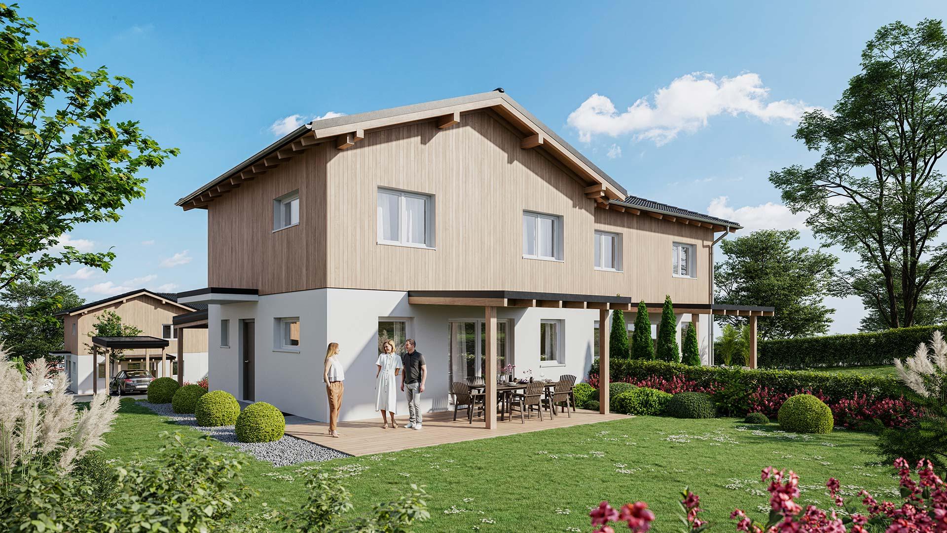 Granatzland Pram - Doppelhaushälfte