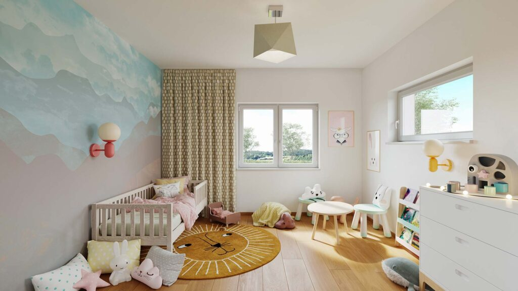 PRAM Kinderzimmer